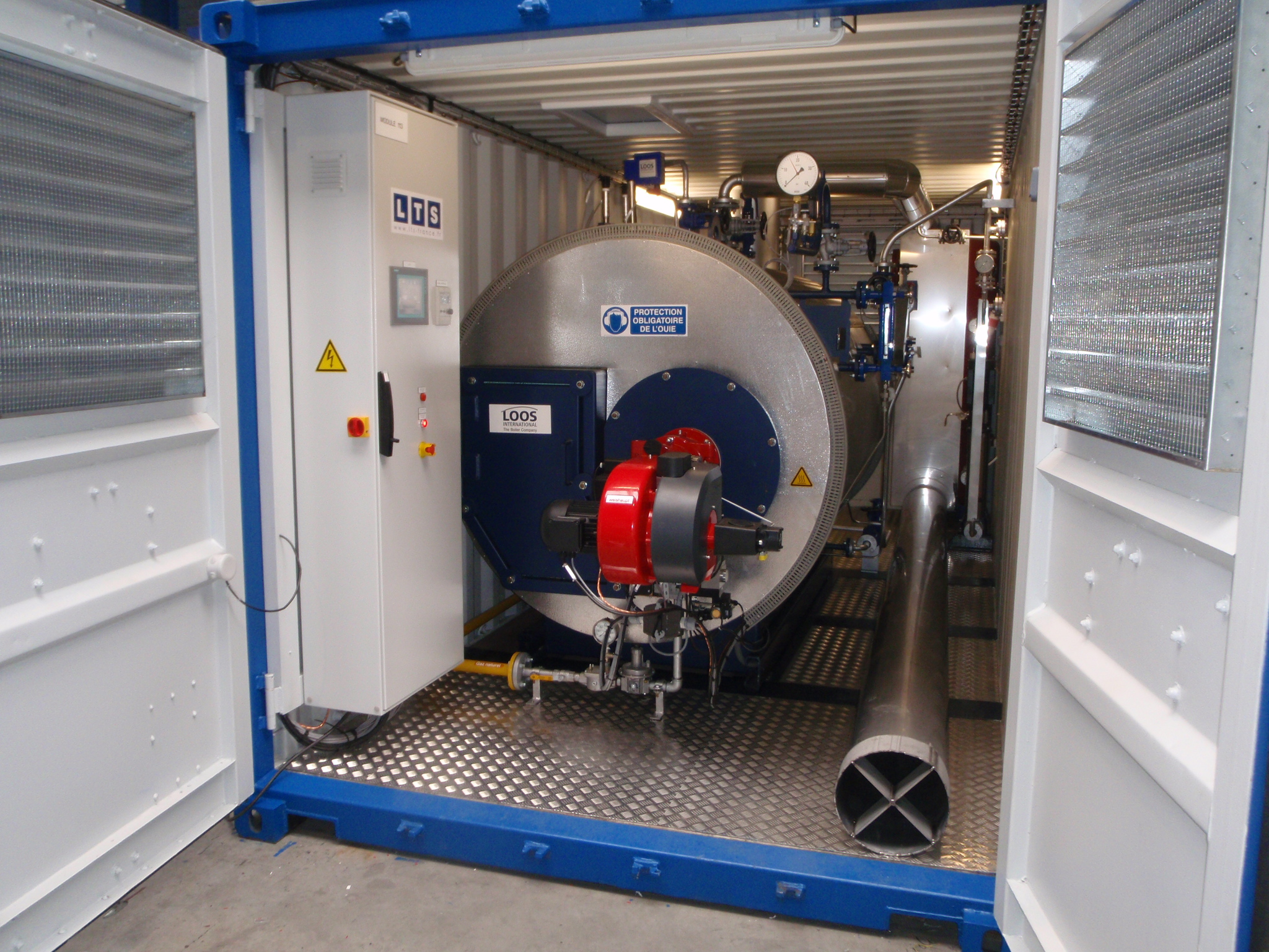 Steam boilers - LTS France